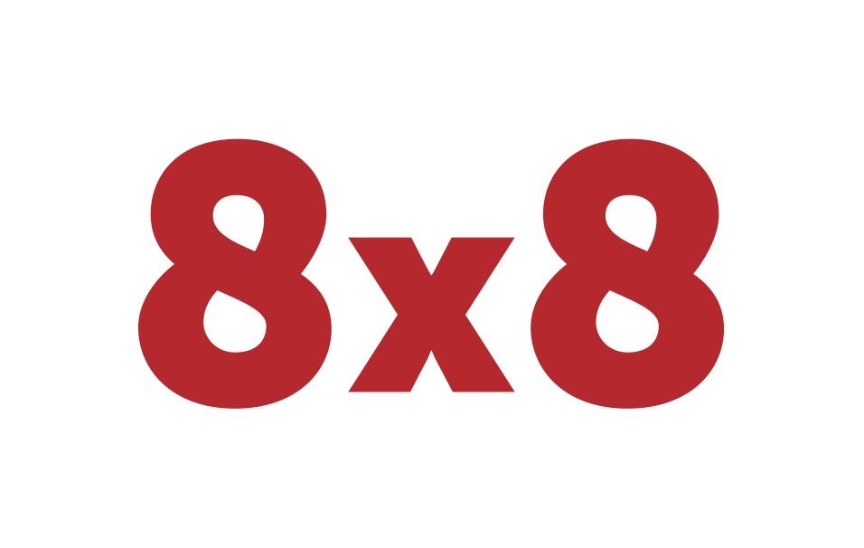 8x8Logo