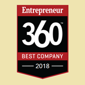 Entrepreneur Magazine: Honors Knowledge Hub Media on 2017, 2018 Entrepreneur 360™ List